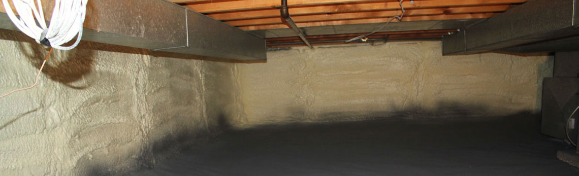 crawl space insulation in Texas